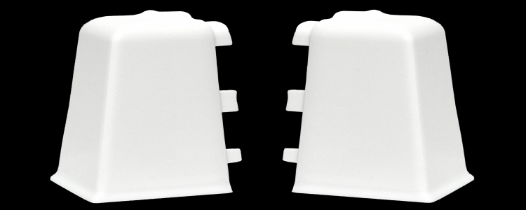 Coltar Exterior Lars Alb 40